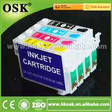 T0911 T0912 T0913 T0914 Reset cartridge for Epson C90 CX5500 CX5501 ciss ink cartridge with Auto Reset Chip