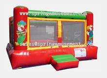 Funny cheap clown jumping bounce house SP-IB082