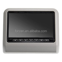 Auto electronics 9inch portable car dvd player with unique mounting bracket