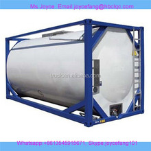 20000 liters, 24000 liters and 40000 liters tank container to hold HCL 35%