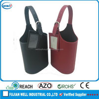Eco-friendly PU leather wine storage manufacturer