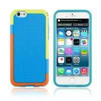 For Apple iPhone 6 Hybrid Armor Case Colorful Case