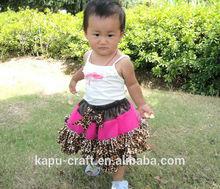 Nuevo producto mini bebé niña mini faldas tutu/pettiskirt/imágenes de niña en faldas cortas