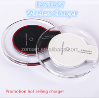 Portable universal QI wireless mobile phone charger with OEM ODM service