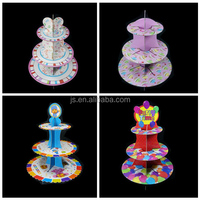 Wedding kids party cup cake stand cake holder wholesale