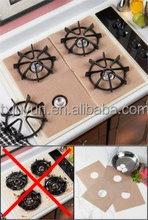 PTFE coating Fiberglass non-stick stovetop Protectors Set of 4