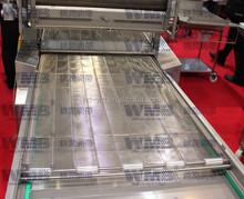 conveyor belt cutting machine/conveyor hinge steel belt