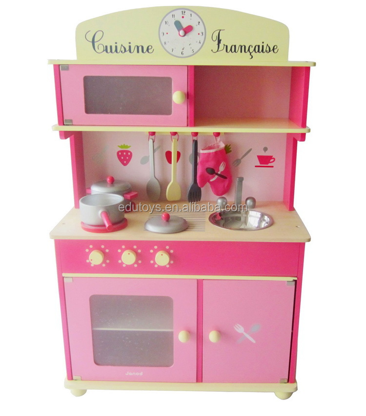 belle fille rose jouets en bois de cuisine jouets set jouets cuisine id de produit 635749387. Black Bedroom Furniture Sets. Home Design Ideas