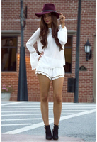 woman clothes 2015 white long sleeve chiffon wholesale clothing online shopping ZC1716