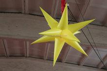 Good quality inflatable LED star / led light star