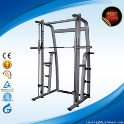 Hot Sale Commercial Fitness Equipment /commercial Gym equipment smith Machine JG-1817