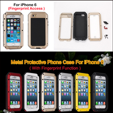 Metal case for iphone 6 ,fashionable design cheap mobile phone case