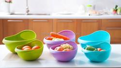 New design plastic rice washing basket /drain basket/vegetable washing basket