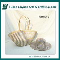 Handmade designer african fabric handbag and cap