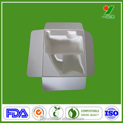 Radiation properties FDA Eco-friendly electronic products protective paper tray