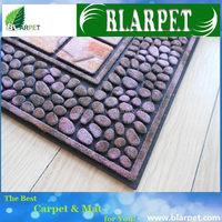 Good quality branded embossed door mat