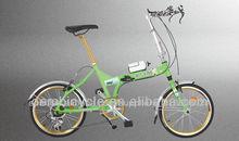 pulgadas 20 especializada venta caliente todo de aluminio de aleación de doble pared de hombres bicicleta plegable bicicleta bar