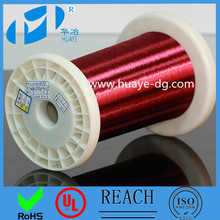 China Alibaba High quality UL 155 class round self bonding polyurethane enamelled copper winding wire
