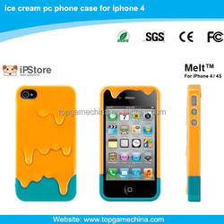 cheap mobile phone case for iPhone 4 ice cream phone case