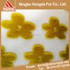 China wholesale Sunflower jacquard satin fabricchina manufacturer hot sale long pile faux fur fabric