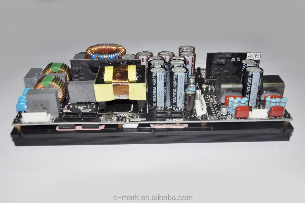 Class d integrated amplifier