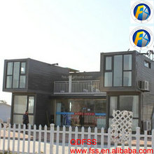 Hot Sale Steel and Wooden Container House China Prefab Container House Furnished