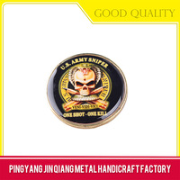 Customized gold bronze silver us navy military challenge coin