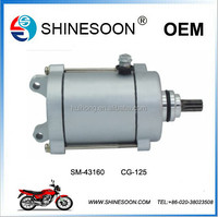 High quality and low price CG125 motorcycle electrical starter for motorcycle part