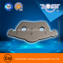quality steel back for Audi brake pads, stainless steel back