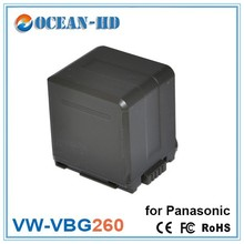 For Panasonic VW-VBG260 nicd 7.2v rechargeable battery packs