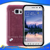 glossy frosted silicone design accessory cell phone case for Galaxy S6 Active G890