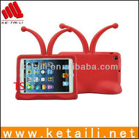 Cute Kids Red Television Foam Case Cover With Antenna For Mini iPad