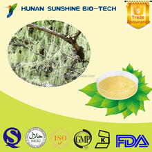 2015 Hot product Usnea extract powder HPLC 98% Usnic acid
