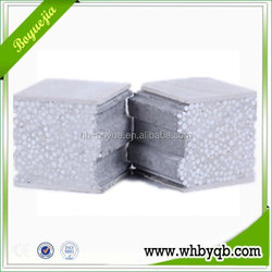 Soundproof thermal insulation eps and fibre cement sandwich panels