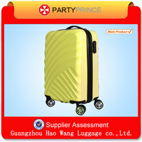 Name Brand ABS PC Hard Shell Sky Travel International Luggage With Various Colors 210D Lining For Sale