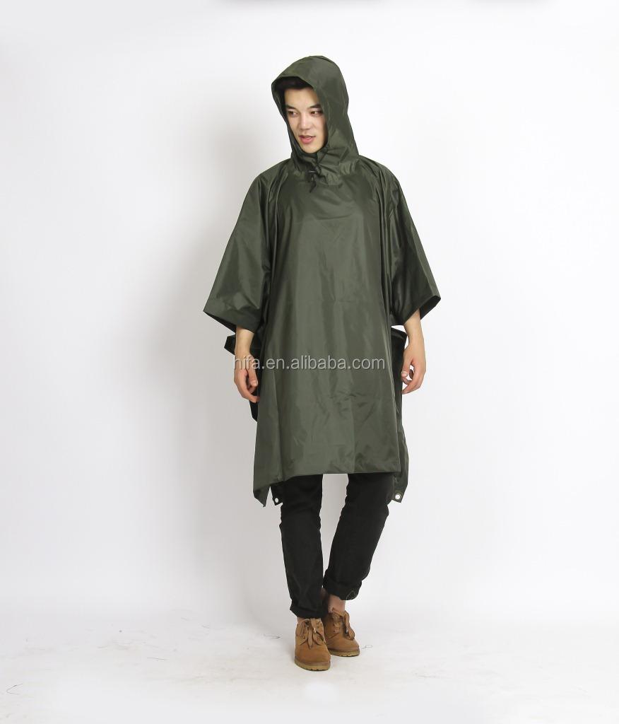 army green rain poncho1.jpg