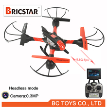 Headless mode 5.8ghz rc quadcopter or helicopter with camera and fpv video transmitter.