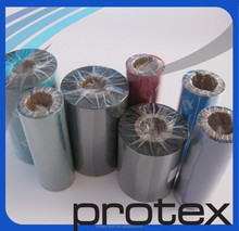 Thermal transfer printer on microfiber ribbon ink outside ribbon excellent print