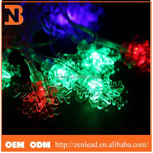 New product Hot sale christmas led lights snow colorful LED String fairy, christmas led string light