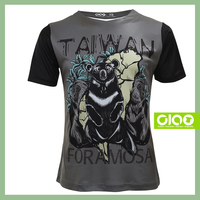 Taiwan black bear design - xxxl 3D t shirt design