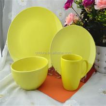 commercial 20pcs porcelain dinnerware sets/reactive decals dinnerware set wholesale