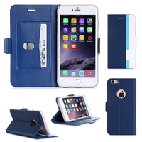 China Suppliers Pu Leather Smart Mobile Phone Wallet Case For iphone 6 plus