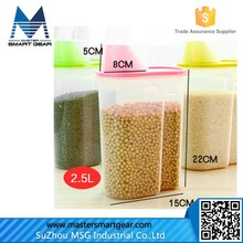 Retangle Plastic Food Storage Container Food Storage Box/Food Grade Plastic Container