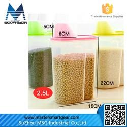 Retangle Plastic Food Storage Container Food Storage Box/Food Grade Plastic Container