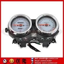 KCM160 Motorcycle Gauges Cluster Speedometer For Honda CB600 Hornet600 1996 1997 1998 1999 2000 2001 2002 White Gauge Instrument