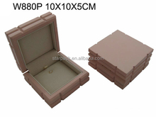 High Class Jewelry Wood Pendant Box Hardware Hook For Sale W880P