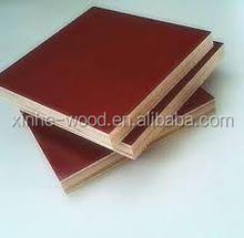 Brown Film Faced Plywood Painted Red Waterproof Paint On the Edge