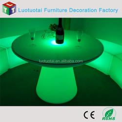 led fashion light bar/coffee table illuminated led bar counter