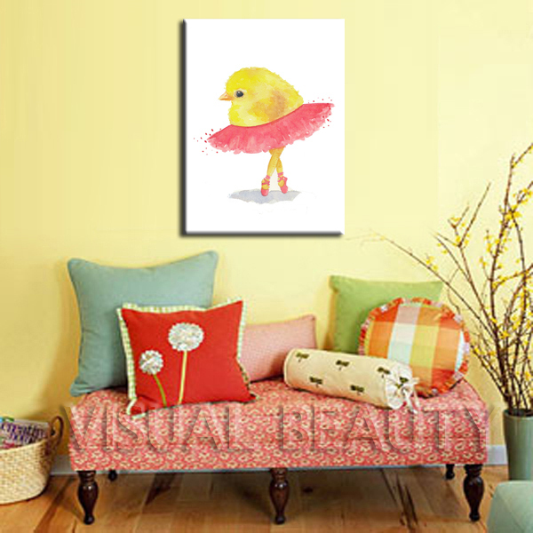 Home Goods Lovely Chicken Wall Art Canvas Painting - Buy Wall Art ...