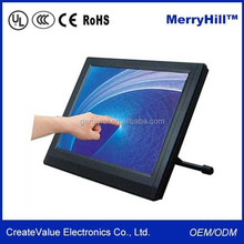 """Industrial Application and POS System 15"""" 17"""" Inch IR Multi Touch Screen Monitor"""